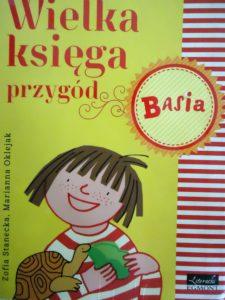 okładka książki Basia. Wielka księga przygód