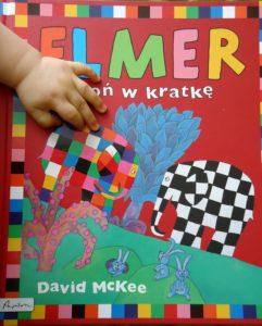okładka książki o Elmerze