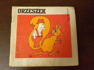 """Okładka książeczki Igora Sikiryckiego """"Orzeszek"""""""