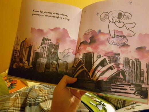 """Koala disco"" - książka na dobranoc"