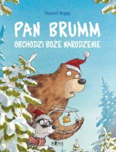 """""""Pan Brumm obchodzi Boże Narodzenie"""" - okładka"""
